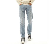 502 Jeans mit zulaufendem Bein Steinwasch