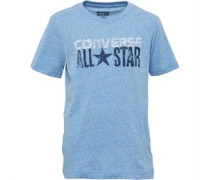 Converse Junior Snow Yarn Woodmark T-Shirt Princess Blue Snow