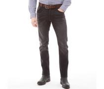Stretch Jeans mit geradem Bein