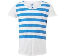 Ringspun Herren ton Sphere T-Shirt Gestreift