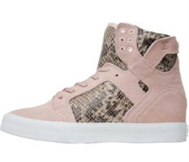 Supra Womens Skytop Wedge Pink/Brown
