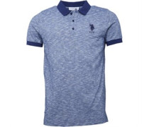 Herren Houston Polohemd Navy