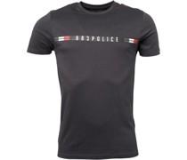 Hynes T-Shirt Dunkel