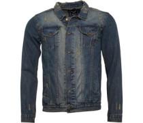 Mens Mjk-Rocky Denim Jacket Blue Denim