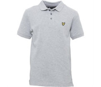 Jungen Classic Polohemd Vintage Grey Heather