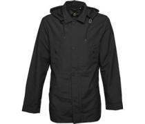Mens Military Jacket True Black