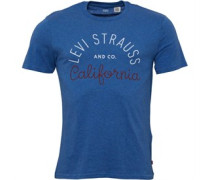 Levi's Herren Graphic T-Shirt Blau