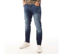 Maylead Jeans in Slim Passform Dunkel