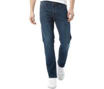 Herren Basicon Jeans mit geradem Bein Blau
