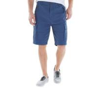 Herren Loke Cargo Shorts Dark Denim