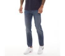502™ Stretch Cool Jeans mit zulaufendem Bein Verblasstes Dunkel