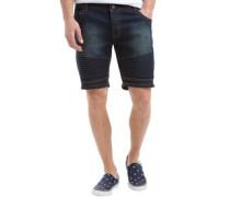 Herren Lasike Denim Shorts Blue Wash