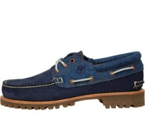 Herren Authentics 3 Eye Lug Schuhe Navy