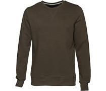 Herren Sweatshirt Dunkelgrün