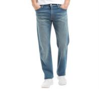 Herren 504 Jeans mit geradem Bein Blau