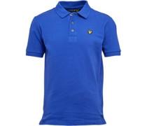 Jungen Classic Duke Polohemd Blau