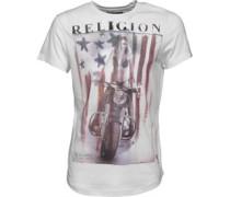 Herren Harley T-Shirt Weiß