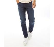 Jeans in Slim Passform Dunkel Denim