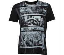 Herren Studio Graphic T-Shirt Schwarz