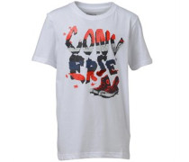 Converse Junior Converse Stripes T-Shirt White