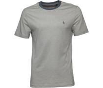 Original Penguin Mens Slub Feeder Ringer T-Shirt Lily Pad