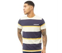 Raya T-Shirt Mehrfarbige Streifen