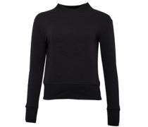 Damen Embossed Chuck Patch Sweatshirt Black