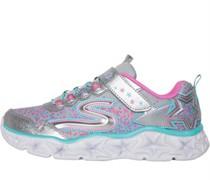 SKECHERS Galaxy Lights Sneakers Silber