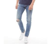 Sleenker Pantaloni 069AI Skinny Jeans Stonewash