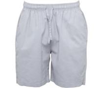 Herren Chino Shorts Verblasstes Grau