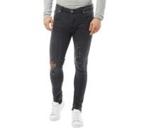 Herren Darren Skinny Jeans Anthrazit