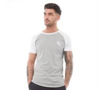 Shoulder Body Cut Script T-Shirt Hellmeliert
