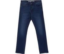 Jeans mit geradem Bein Denim