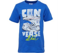 Converse Junior Star Chucks T-Shirt Oxygen Blue
