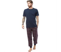 Loungewear-Set Navy