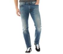 Herren Thavar 0857N Skinny Jeans Blau