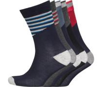 Herren Five Socken Mehrfarbig