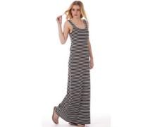 Only Damen Abbie Long Tank Kleid Schwarz