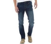 French Connection Herren James Regular Mid Jeans in Slim Passform Blau