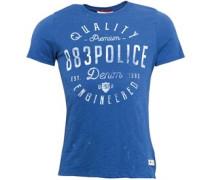 Herren Kuro T-Shirt Königsblau