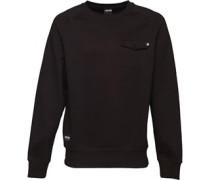 Herren Stash Sweatshirt Schwarz