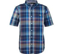 Original Penguin Junior Check Shirt Directorie Blue