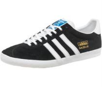 Gazelle OG Sneakers /Weiß/Gold