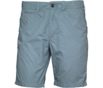 Herren Base Twill Chin Chino Shorts Blau