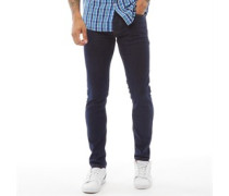 Buraca Skinny Jeans Indigo