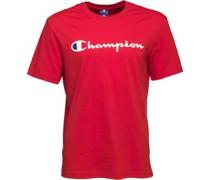 Herren Logo T-Shirt Rot