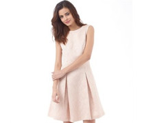 Ted Baker Womens Delina Contrast Tipping Jacquard Dress Shell