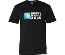 Canterbury Herren 215 Logo T-Shirt Schwarz