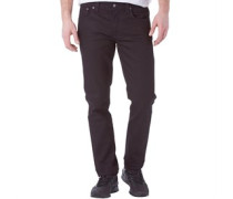 Herren Grim Tim Jeans in Slim Passform Black Ring