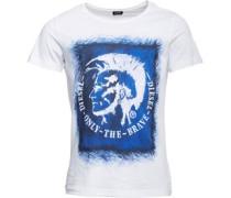 Herren T-Diego-DC-EB T-Shirt Weiß